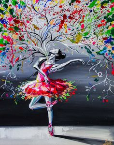 I Portray The Feeling Of Ballet Dance In My Paintings To Show How Important Passion Is Ballerina Painting, Ballerina Art, Oil Painting Tips, Spring Painting, Fine Art Paper, At Least, Original Paintings, Poster Prints, Wall Art