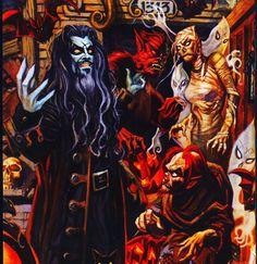 White Zombie, Rob Zombie, Horror Stories, Concept Art, Conceptual Art