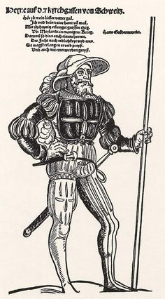 Der Reissläufer auf der Kyrchgassen (um 1535)