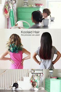 Koolaid Hair Dye | Pinterest | Kool aid, Hair dye and Kool aid hair