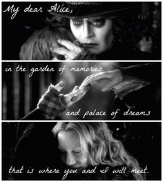 """I did """"Alice through the looking glass"""" edit. Loved this movie. *endless crying*"""