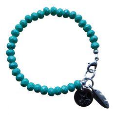 Armband Zilver - Facet Emerald Groen