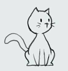Image result for cat drawing simple
