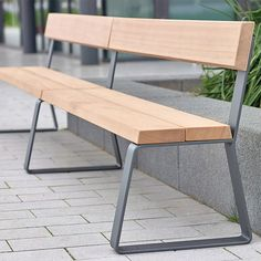 Campus levis Bench extending module by Westeifel Werke Exterior benches Iron Furniture, City Furniture, Steel Furniture, Cheap Furniture, Industrial Furniture, Modern Furniture, Furniture Design, Outdoor Furniture, Furniture Stores
