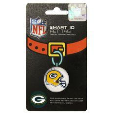 479a3253bc8 NFL DOG TAG GREEN BAY PACKERS Smart Pet TRACKING Tag. Best Retrieval System  For Dogs