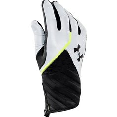 Under Armour Men???s UA ColdGear?(R) Infrared Reflective Run Gloves ($25) ❤ liked on Polyvore featuring men's fashion, men's clothing, men's activewear, under armour mens clothing, mens clothing and men's apparel