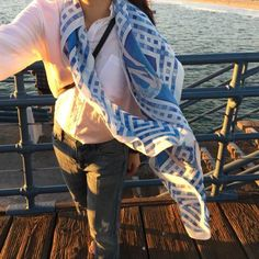 No splashing allowed scarf. Www.chrisu.com