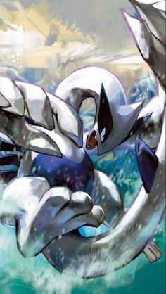 Lugia (Pokémon) - Bulbapedia, the community-driven Pokémon encyclopedia Lugia Pokemon, Pokemon Pins, Pokemon Fan Art, Charmander, Charizard, Pokemon Legal, Pokemon Original, Dragons, Pokemon Pictures