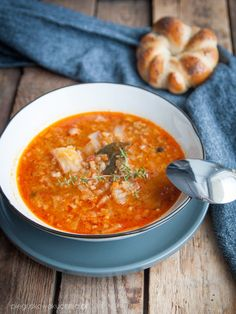 zupa gołąbkowa Food And Drink, Cooking, Ethnic Recipes, Mood, Decor, Kitchens, Baking Center, Decoration, Decorating