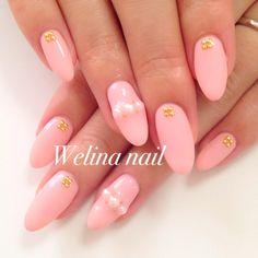 ネイル デザイン 画像 815571 ピンク ワンカラー デート ハンド
