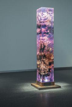 Synthesis - Escultura de resina y brea de Tom Price