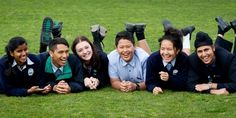 Students at Edgewater College in Pakuranga, East Auckland agree that high anxiety levels seem quite common  in high school students, especially among younger teenagers. Photo / Sarah Ivey