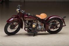 1929 INDIAN 401 MOTORCYCLE - Barrett-Jackson Auction Company Ron Pratte collection, Scottsdale Jan '15