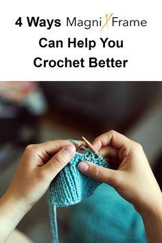 Crochet Flower Tutorial, Easy Crochet, Crochet Flowers, Getting Rid Of Headaches, Girl Boards, Big Face, Eye Strain, Crochet Diagram, Knitting Projects