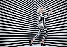 Stripes are my favorite print, two tones or multicolored I don't care, I just love it all, because it's a...