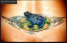 Frog Tattoos, Designs And Ideas