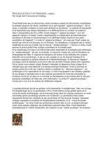PSYCHANALYSE ET MYTHOLOGIE : Le mythe d'Orion