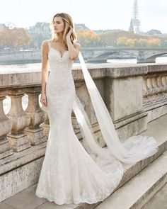 Find Wedding Dresses by Aire Barcelona thanks to our search engine. Discover the latest tips and trends in Wedding Dresses by Aire Barcelona. Pink Wedding Dresses, Stunning Wedding Dresses, Bridal Dresses, Wedding Gowns, Fit And Flair, Win A Wedding, Bridal Gallery, Everyday Dresses, Mermaid Dresses
