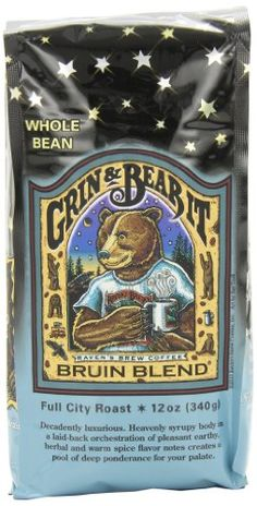 Raven's Brew Whole Bean Bruin Blend, 12-Ounce Bags (Pack of 2) >>> To view further for this item, visit the image link.