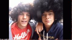 Harry and Louis gif:) adorable