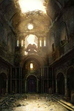 View an image titled 'Courtyard Art' in our Dark Souls art gallery featuring official character designs, concept art, and promo pictures. Arte Dark Souls, Dark Souls 2, Demon's Souls, Dark Castle, Concept Art World, Environment Concept Art, Environment Design, Fantasy World, Dark Fantasy