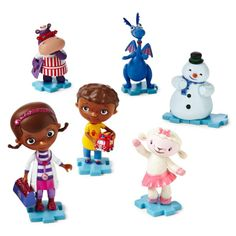 Disney Doc McStuffins 6-pc. Figure Set -