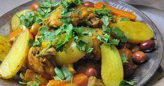 La cuisine d'ici et d'ISCA: Tajine de poulet aux olives et au citron confit comme à Casa