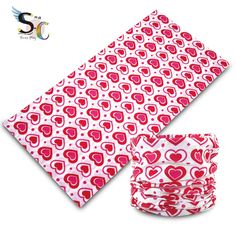 $1.2 hearts bandana
