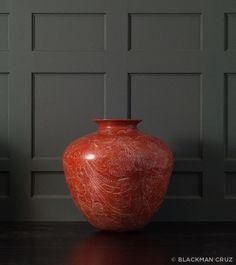 Tonala Jar with Flowers: Mexico, c1920 – Blackman Cruz