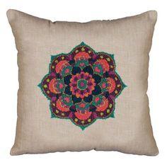 Design Works™ Mandala Punch Needle Pillow Cover Punch Needle $15.99