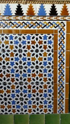 Tiles, Alcázar de Segovia