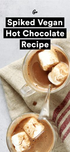 And we never made Swiss Miss again. #greatist http://greatist.com/eat/vegan-spiked-hot-chocolate-recipe-video