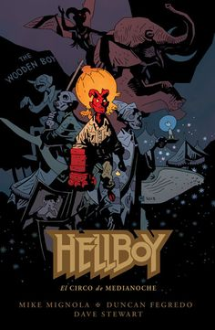 Portada de 'Hellboy. El circo de medianoche'