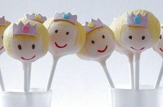 Flower Cake Pops Ideas | princess cake pops princess dress and crown pans pantastic cake