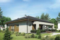 DOM.PL™ - Projekt domu Mój dom Przemuś CE - DOM BR1-26 - gotowy koszt budowy Gazebo, Outdoor Structures, Outdoor Decor, Home Decor, Homemade Home Decor, Kiosk, Pavilion, Interior Design, Home Interior Design