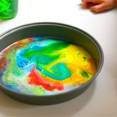 Pretty and fun activity to do with kids. (We love this one, but haven't done it in a long time. ~M)