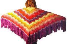 Knitting | Free Knitting Pattern: The Feather and Fan Comfort Shawl