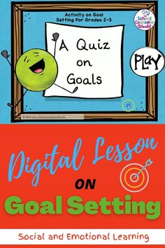 Goal setting   DIGITAL   GOALS  Social and Emotional Lessons   Distance Learning   Digital   Interactive   Games   Life Skills   School Counseling   Character Education   2nd grade   3rd Grade   Lesson Plans   Activities   Elementary   Guidance   Kids   Students   School Counselor   SEL   Curriculum   Social and Emotional Learning   Emotions   Feelings   Social Interactions   Social Skills   Decision-Making   Kindergarten Classroom Management, Elementary School Counseling, School Counselor, Social Emotional Learning, Social Skills, Growth Mindset Lessons, Impulsive Behavior, School Sets, Guidance Lessons