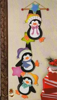 Wild Rose Studio`s stamp set Owls on Branch Felt Christmas Ornaments, Christmas Art, Christmas Projects, Christmas Stockings, Felt Crafts, Diy And Crafts, Christmas Crafts, Crafts For Kids, Paper Crafts