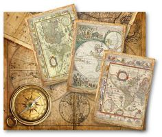 Travel journal old world map scrapbook wanderlust vacation log vintage old world maps tags gumiabroncs Choice Image