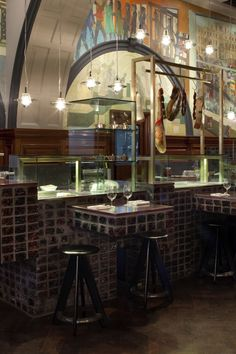 Royal Academy Restaurant By Design Research Studio Art Bathroom Interiors