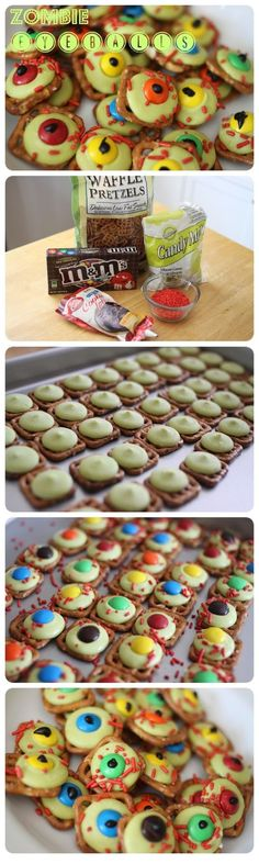 Zombie Eyeballs | Halloween Party Ideas