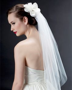 I like that this, and I think the veil length is nice.