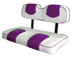 Golf Cart Seat Covers, Golf Cart Seats, Golf Carts, Rear Seat, Top, Ebay, Furniture, Color, Home Decor