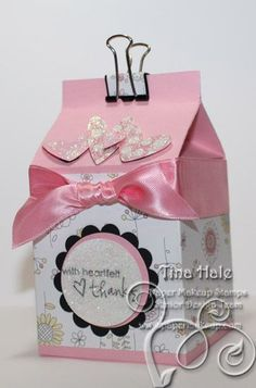 scrapbooking idea for a box ♥
