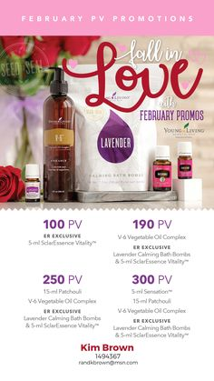 Some amazing FREE products from Young Living this month! Sensation 5 ml - smells divine! SclarEssence™ Vitality™ 5 ml ER only - excited to try this! Lavender Bath Bombs ER only - I have been wanting these for so long and now I finally have them -- for FREE! V-6™ Vegetable Oil Complex - my favorite carrier oil! Patchouli 15 ml - this has been my dryer balls go to oil! Smells so earthy!