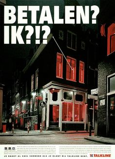 "Telecom Provider: ""THE RED LIGHT DISTRICT"" Print Ad  by Mccann-erickson Nederland"