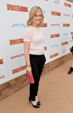 #AmyPoehler arrives at the premiere of 'Free Birds' at the #WestwoodVillage Theatre on October 13, 2013  http://celebhotspots.com/hotspot/?hotspotid=5485&next=1
