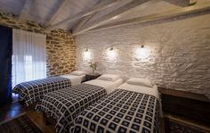 souliotis mansion-arxontiko soulioti Greece Holiday, Cottage, Holidays, Mansions, Country, Bed, House, Furniture, Home Decor