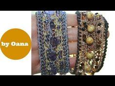 Tutorial Bracciale Gotico all'uncinetto   How to crochet a bracelet - YouTube